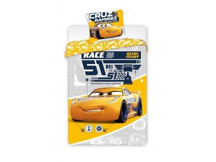 Pościel 140x200+70x90 Cars 3 056 EAN 5907750581726