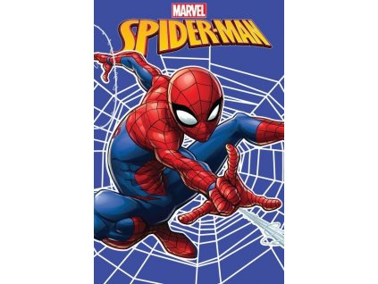 410 spider man web fleecova deka 1