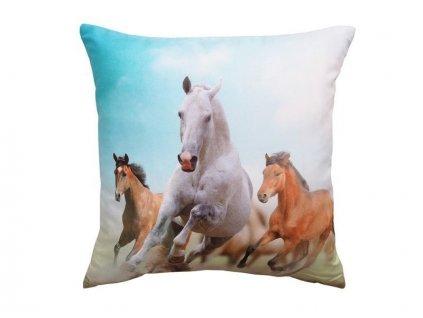 Polštářek Koně 40x40 cm