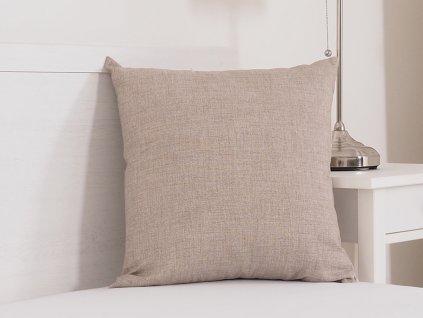 Dekorační polštářek 45x45 - beige