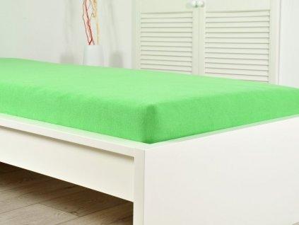 1211 prosteradlo frote perfect 140 160x200 cm jarni zelena