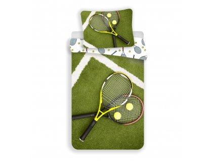 3D fototisk -  Povlečení fototisk Tenis 140x200 70x90
