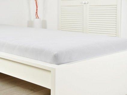 Prostěradlo Jersey bavlna IDEAL 90x 200 cm - Šedá