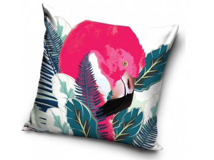 Dekorační dětský polštářek Flamingo 40x40
