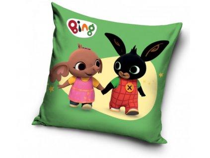 Dekorační polštářek 40x40 cm - Zajíček Bing a Sula