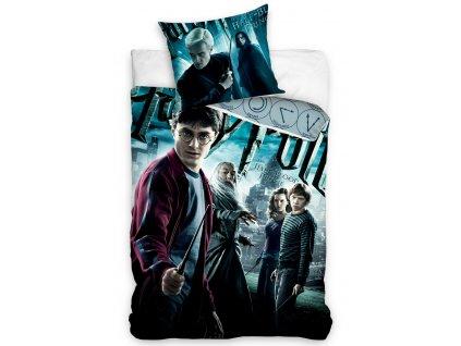 Licenční bavlněné povlečení se zipem 140x200+70x90 - Harry Potter a Princ dvojí krve