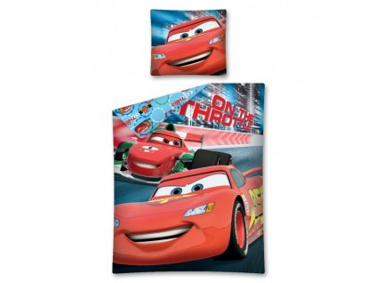 detske povleceni s bleskem mcqueneem cars auta 70 x 80 cm a 140 x 200 cm