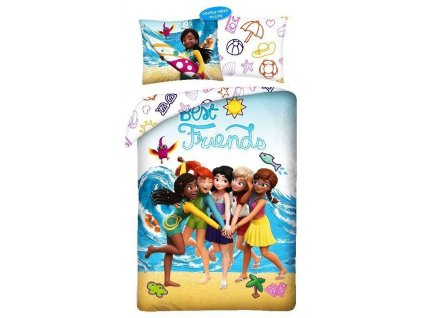 ha 015469 halantex povleceni lego friends beach bavlna 140 200 70 90 cm