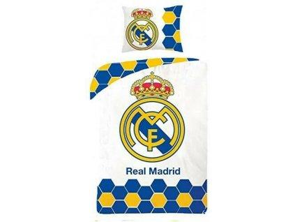 140 x 200 cm -  Bavlněné povlečení 140x200 + 70x90 cm - Real Madrid