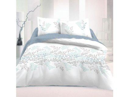 200 x 200 cm -  Francouzské bavlněné povlečení 200x200 + 2x 70x90 cm - Victoria bílá