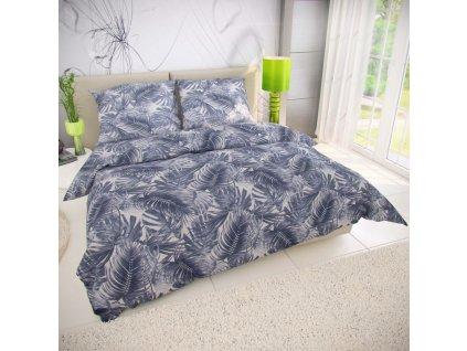 Kvalitex -  Povlečení bavlna 140x200, 70x90 cm Puma šedá