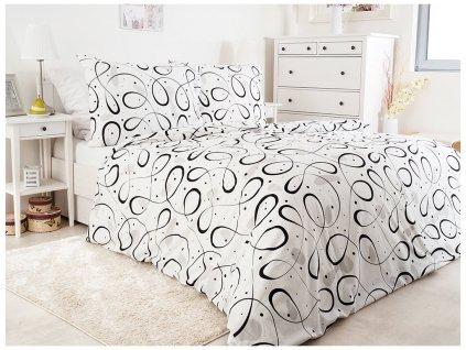 Bavlněné povlečení -  Bavlněné povlečení 150x200 + 50x60 cm - Novalja