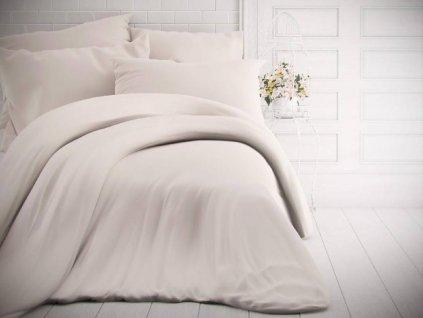 Kvalitex -  Jednobarevné bavlněné povlečení 140x200 + 70x90cm - Bílé