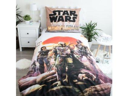 70 x 90 cm -  Bavlněné povlečení 140x200 + 70x90 cm - Star Wars