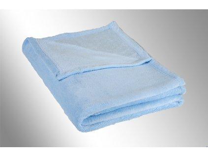 svetle modra deka mikroplys