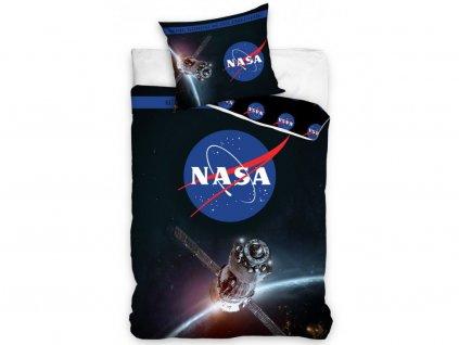 140 x 200 cm -  Bavlněné povlečení 140x200 + 70x90 cm - NASA Kosmická loď