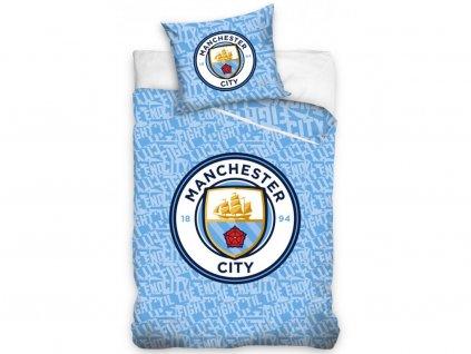 140 x 200 cm -  Bavlněné povlečení se svítícím efektem 140x200 + 70x90 cm - Manchester City