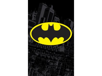 Bavlněný froté ručníček 30x50 cm - Batman