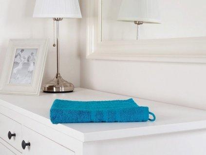 Froté ručník modrý Classic azurově modrá 50x100 (450g/m2)