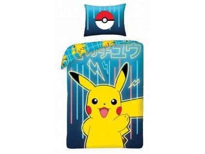 70 x 80 cm -  Bavlněné povlečení 160x200 + 70x80 cm - Pokémon