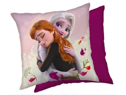 """Dekorační polštářek 40x40 cm - Frozen """"Snowflakes 02"""""""