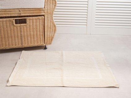 Koupelnová předložka Comfort 50x70 cm - Krémová