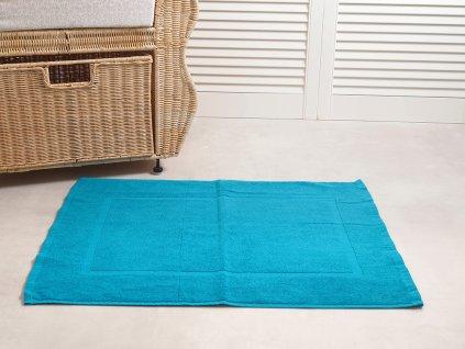 2708 2 koupelnova predlozka comfort 50x70 cm azurova modra
