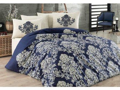 Povlečení bavlna Deluxe Moravo 140x200 + 2x povlak na polštář