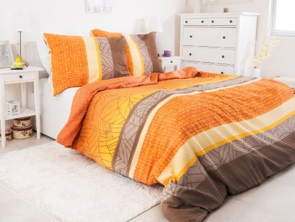Bavlněné ložní povlečení Arancione 140x200