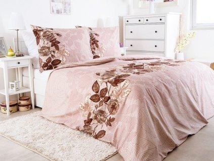 Krepové povlečení se zipem z bavlny Cartagena 140x200