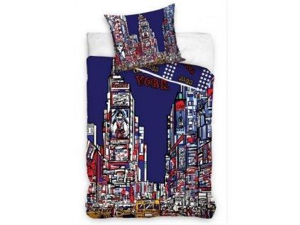 Povlečení Licenční fototisk NY Times Square 140x200