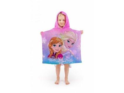 Dětské pončo Frozen 60x120cm (věk 3-7let)