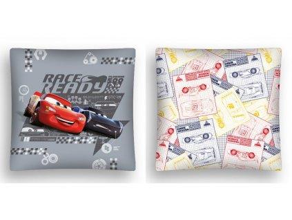 Dětský dekorační polštářek Cars Race ready 40x40