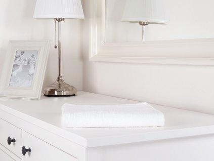 Bílý ručník froté 50x100 HOTEL 100% bavlna