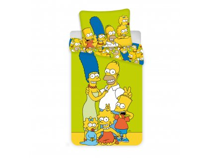 Simpsons green yellow