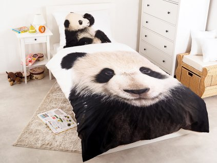 Povlečení BAVLNA Fototisk 140x200 - Wild Panda