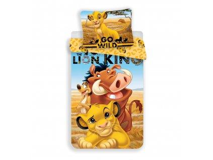 Povlečení bavlna Lví král/Lion King 140x200cm