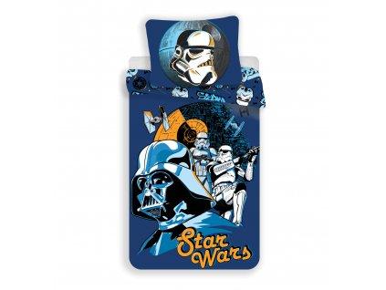 Povlečení bavlněné licenční 140x200- Star Wars Blue