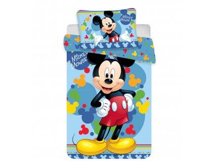 Dětské povlečení do postýlky 100x135 - Mickey baby 02