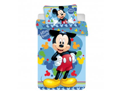 Povlečení do postýlky 100x135 + 40x60 cm - Mickey baby 02
