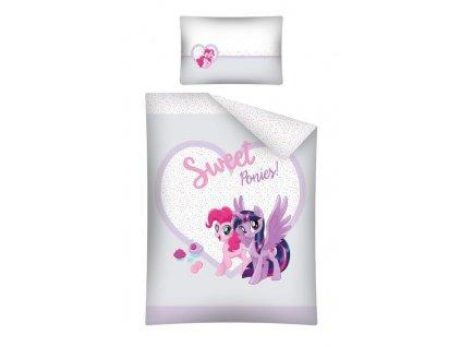 Povlečení do postýlky 100x135 + 40x60 cm - My Little Pony 37B