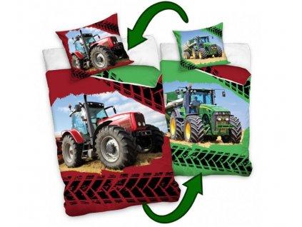 Povlečení Licenční bavlněné Traktory 140x200