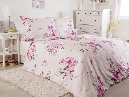 Luxusní saténové ložní povlečení z bavlny Goricia 140x200+70x90