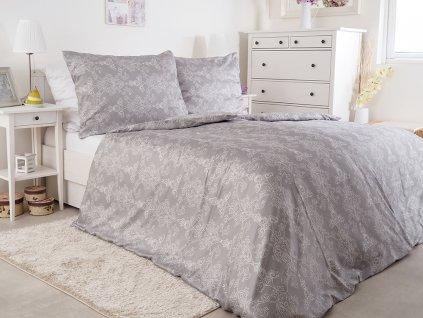 Luxusní saténové ložní povlečení z bavlny Padova 200x220+70x90 (2x)