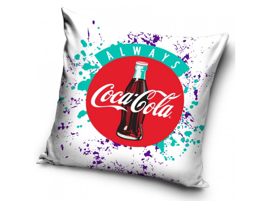 TipTrade Povlak na polštářek 40x40 cm - Always Coca Cola
