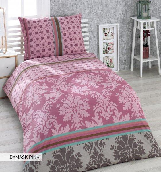 TipTrade Luxusní bavlněné povlečení Arge růžová 140x200