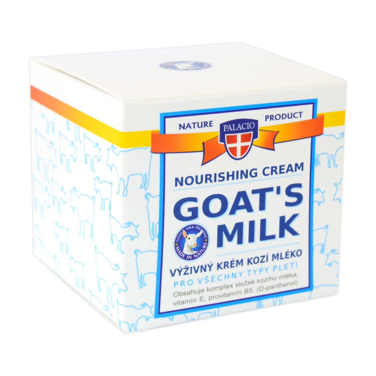 Palacio Kozí mléko krém pleť, 50ml