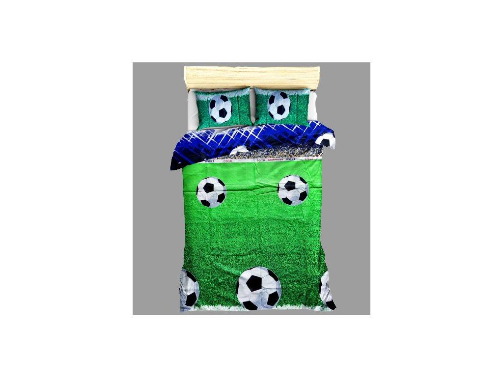 Bavlněné povlečení Fotbal