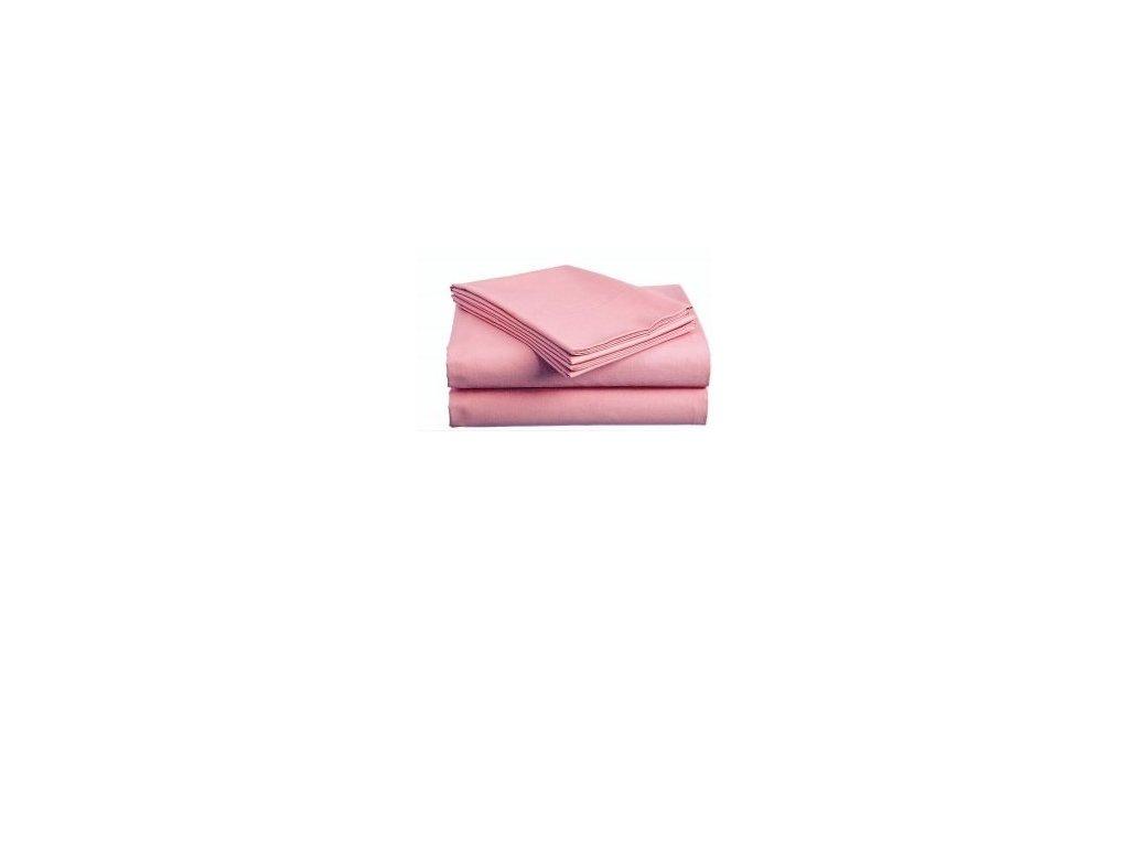 Bavlněné prostěradlo - Plachta Růžová