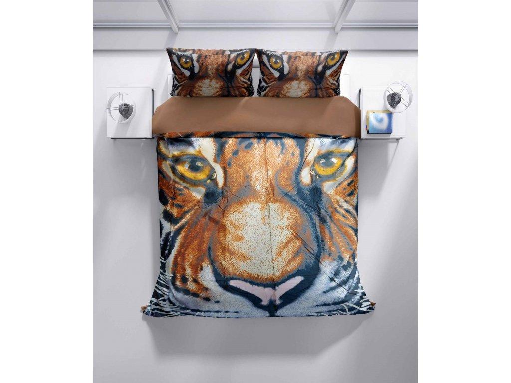 Povlečení 3D Tygr